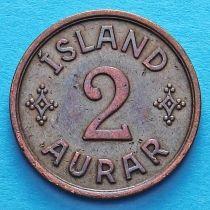 Исландия 2 эйре 1940 год.