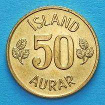 Исландия 50 эйре 1974 год.