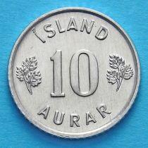 Исландия 10 эйре 1974 год.