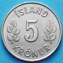 Исландия 5 крон 1974 год.