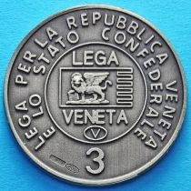 Италия. Лига Севера. Венета 3 лега 1992 год. Серебро