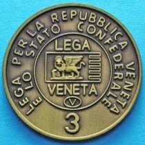 Италия. Лига Севера. Венета 3 лега 1992 год.