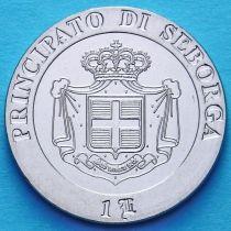 Италия. Себорга 1 луиджино 2012 год.
