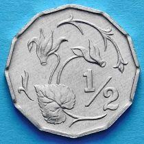 Лот 10 монет. Кипр 1/2 цента 1983 год.