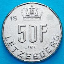 Люксембург 50 франков 1989 год.