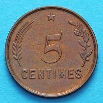 Люксембург 5 сантим 1930 год.