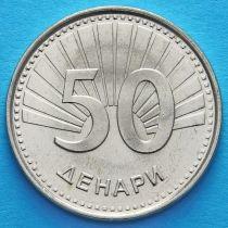 Македония 50 денар 2008 год. Архангел Гавриил.