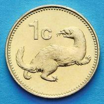 Мальта 1 цент 1998 год. Ласка.