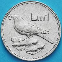 Мальта 1 лира 1986 год.