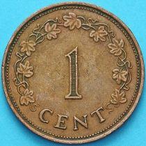 Мальта 1 цент 1975 год.