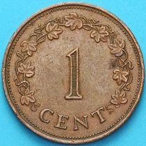 Мальта 1 цент 1977 год.
