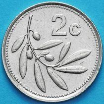 Мальта 2 цента 1986 год.