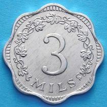 Мальта 3 милса 1972 год. Пчела.