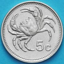 Мальта 5 центов 1986 год.
