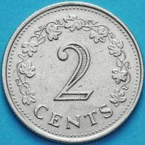 Мальта 2 цента 1976 год. Пентесилея.