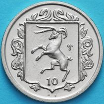 Остров Мэн 10 пенсов 1985 год. АВ