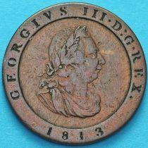 Остров Мэн 1/2 пенни 1813 год. №2