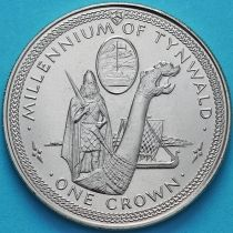 Остров Мэн 1 крона 1979 год. Драккар.