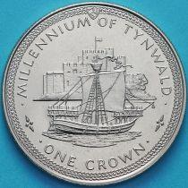 Остров Мэн 1 крона 1979 год. Когг.