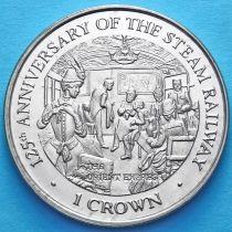 Остров Мэн 1 крона 1998 год. Восточный экспресс