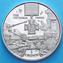 Остров Мэн 1 крона 2004 год. Крест Виктории.