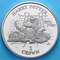 Остров Мэн 1 крона 2002 год. Гарри Поттер.