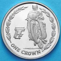 Остров Мэн 1 крона 2005 год. Мотогонки ТТ. №1