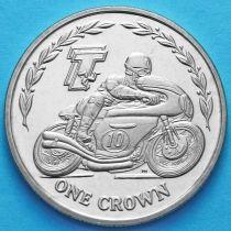 Остров Мэн 1 крона 2005 год. Мотогонки ТТ. №2