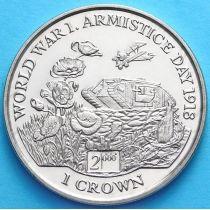 Остров Мэн 1 крона 1999 год. День перемирия