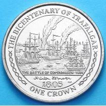 Остров Мэн 1 крона 2005 год. Битва при Копенгагене