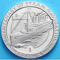 Остров Мэн 1 крона 1988 год. Королева Мария