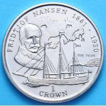 Остров Мэн 1 крона 1997 год. Нансен