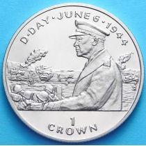 Остров Мэн 1 крона 1994 г. Эйзенхауэр