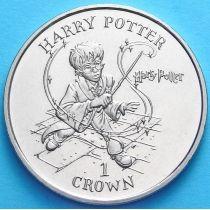 Остров Мэн 1 крона 2001 год. Гарри Поттер