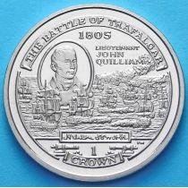 Остров Мэн 1 крона 2004 год. Джон Квиллиам