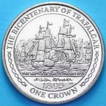 Остров Мэн 1 крона 2005 год. Битва при Сан-Висенте