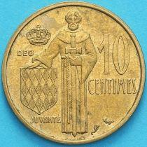 Монако 10 сантим 1962 год
