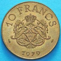 Монако 10 франков 1978-1982 год.