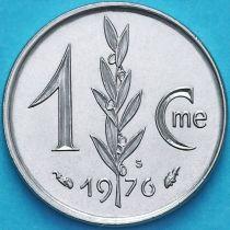 Монако 1 сантим 1976 год.