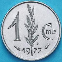 Монако 1 сантим 1977 год.