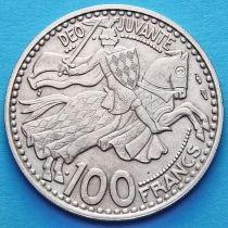 Монако 100 франков 1950 год.