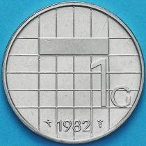 Нидерланды 1 гульден 1982 год.