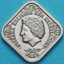 Нидерланды, токен 5 центов 1979 год. 400 лет городу Утрехт.