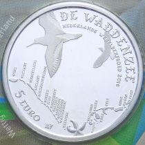 Нидерланды 5 евро 2016 год. Ваттовое море.