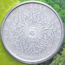 Нидерланды 5 евро 2011 год. Фонд дикой природы