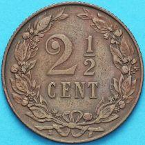 Нидерланды 2 1/2 цента 1905 год.