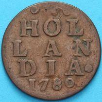 Нидерланды, Голландская республика 1 дуит 1780 год.
