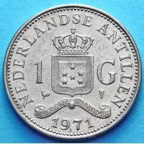 Нидерландские Антилы 1 гульден 1971 год.