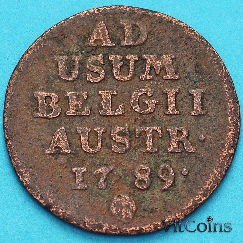 Монета Бельгия, Австрийские Нидерланды 1 лиард 1789 год.