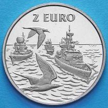 Нидерланды токен 2 евро 1997 год. №1